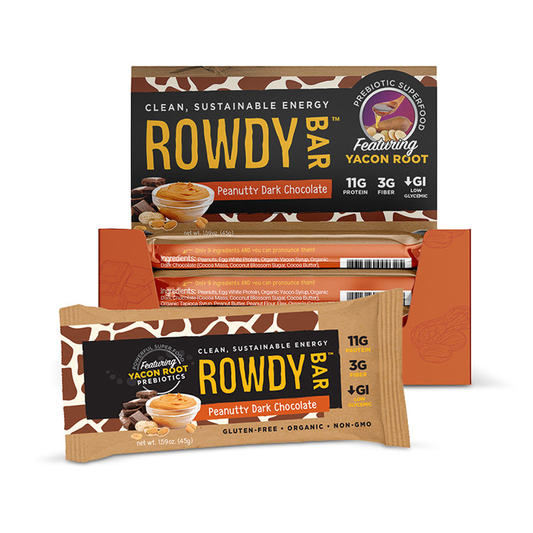 Rowdy Bars - Chocolate Coconut Cashew