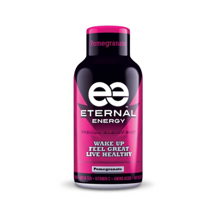 Eternal Energy Shot Pomegranate  | Bulu Box - sample superior vitamins and supplements