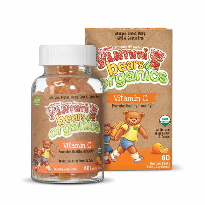 Yummi Bear Organic Vitamin C | Bulu Box Superior Supplements, Vitamins, and Healthy Snacks