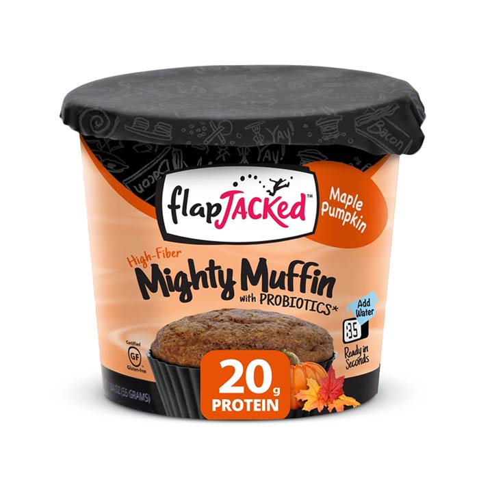 FlapJacked Mighty Muffin Maple Pumpkin | Bulu Box - sample superior vitamins and supplements