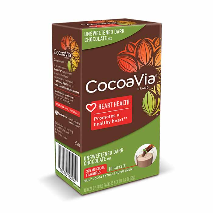 CocoaVia - Unsweetened Dark Chocolate | Bulu Box - sample superior vitamins and supplements