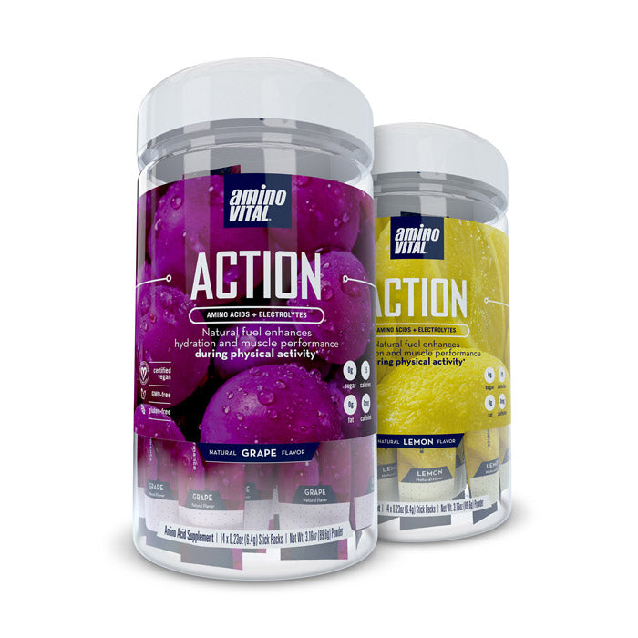 Amino Vital Action - Combo | Bulu Box Superior Supplements, Vitamins, and Healthy Snacks