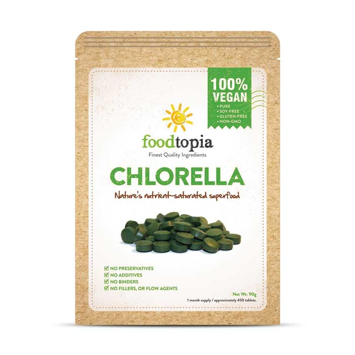 Foodtopia Chlorella | Bulu Box - sample superior vitamins and supplements