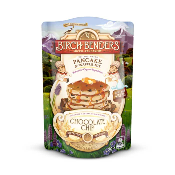 Birch Benders Pancake & Waffle Mix - Chocolate Chip | Bulu Box - sample superior vitamins and supplements