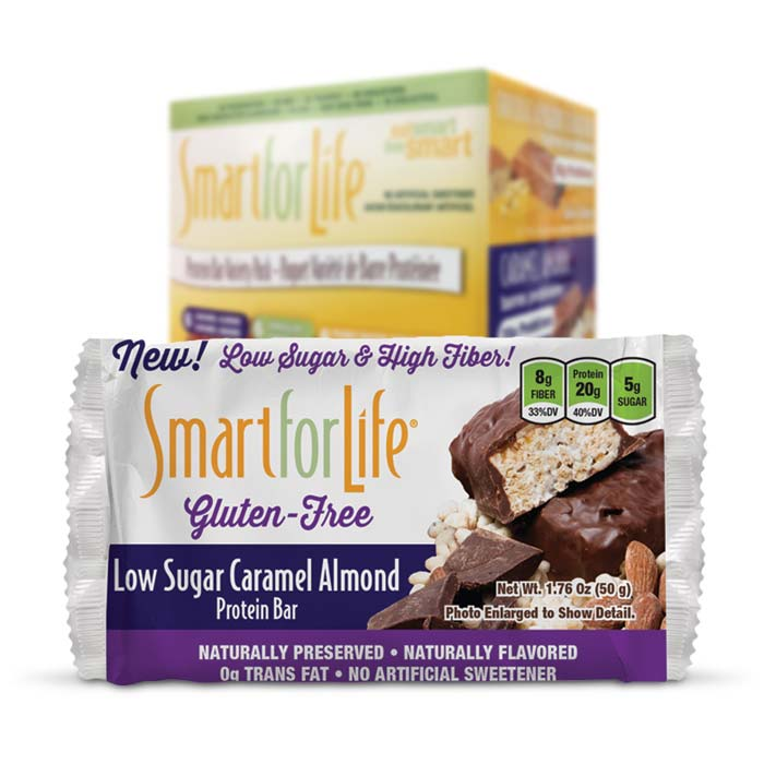 Smart For Life - Caramel Almond Protein Bar | Bulu Box - sample superior vitamins and supplements