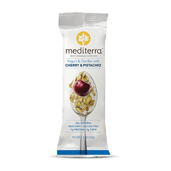 Mediterra Nutritional Bars Yogurt Cherry Pistachio | Bulu Box - sample superior vitamins and supplements