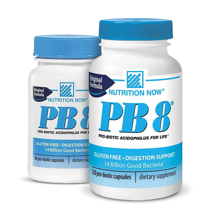 Nutrition Now PB 8 ProBiotic Acidophilus | Bulu Box - sample superior vitamins and supplements