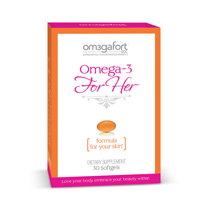 Omega-3 For Her - Formula For Your Skin | Bulu Box Superior Supplements, Vitamins, and Healthy Snacks