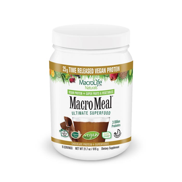 MacroLife Macro Meal Vegan - Chocolate | Bulu Box Superior Supplements, Vitamins, and Healthy Snacks