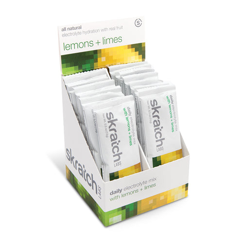 Skratch Labs Daily Electrolyte Mix Lemon Lime Sticks | Bulu Box - sample superior vitamins and supplements
