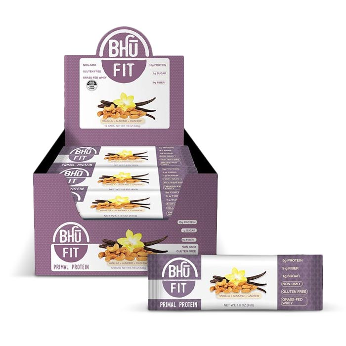 Bhu Fit Primal Protein Bars Vanilla Almond Cashew | Bulu Box - sample superior vitamins and supplements