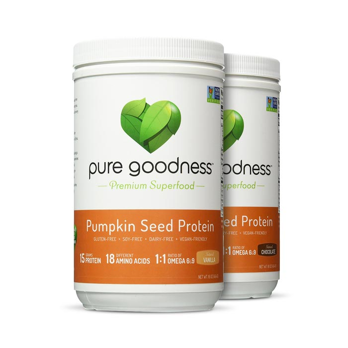 Pure Goodness Pumpkin Seed Protein | Bulu Box Superior Supplements, Vitamins, and Healthy Snacks