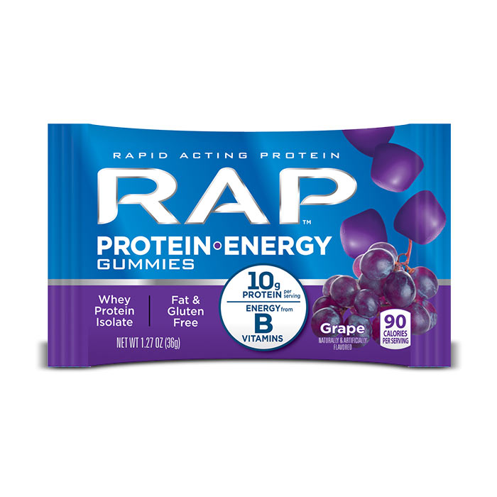 RAP Protein Energy Gummies | Bulu Box - Sample Superior Vitamins and Supplements