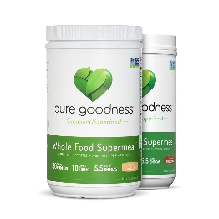 Pure Goodness Whole Food Supermeal - Bulu Box Superior Supplements, Vitamins, and Healthy Snacks