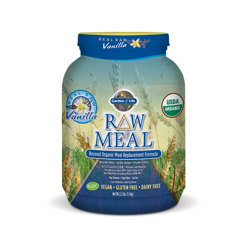 RAW Organic Meal Replacement - Vanilla | Bulu Box - sample superior vitamins and supplements