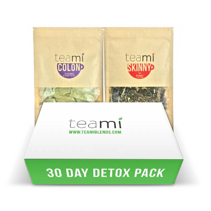Teami Detox 30 Days Pack | Bulu Box - sample superior vitamins and supplements
