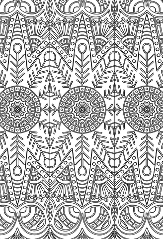 Blue Star Coloring Adult Coloring Book: Stress Relieving Patterns