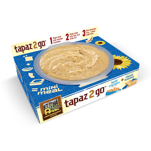 Mediterranean Snacks Tapaz 2 Go Classic Hummus | Bulu Box - sample superior vitamins and supplements