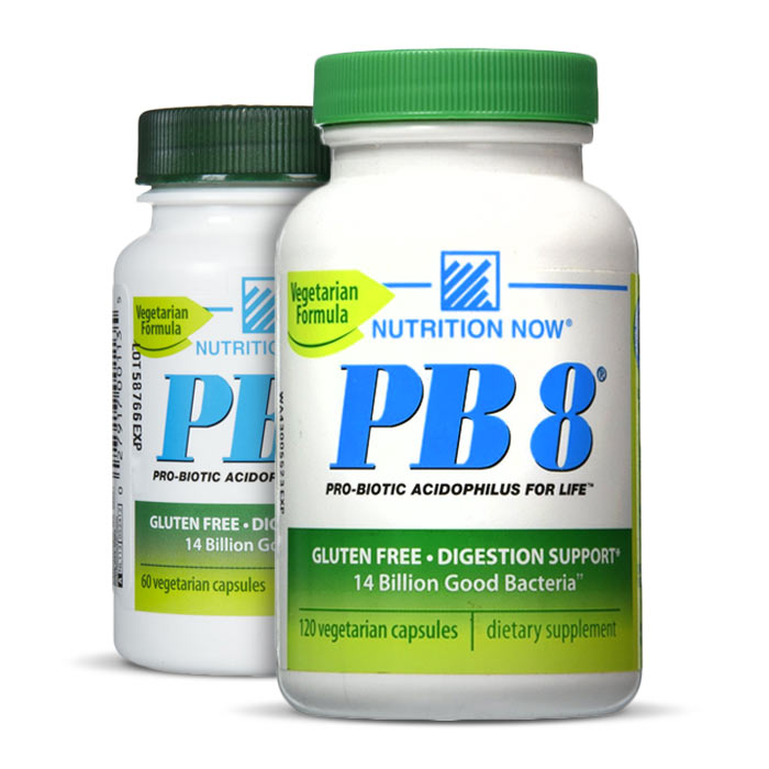 Nutrition Now PB 8 ProBiotic Acidophilus Vegetarian | Bulu Box - sample superior vitamins and supplements