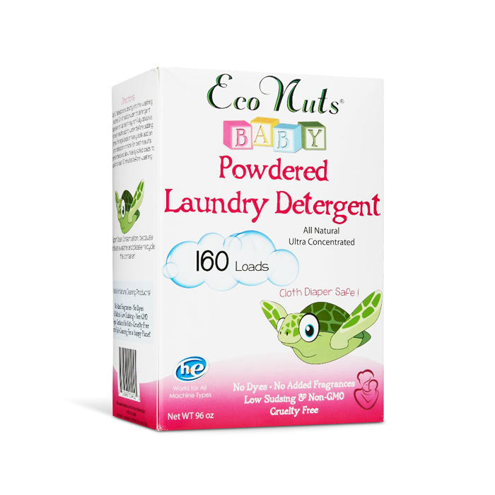 Eco Nuts - Baby Natural Powdered Laundry Detergent - 80 Loads