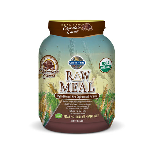 RAW Organic Meal Replacement - Chocolate | Bulu Box - sample superior vitamins and supplements