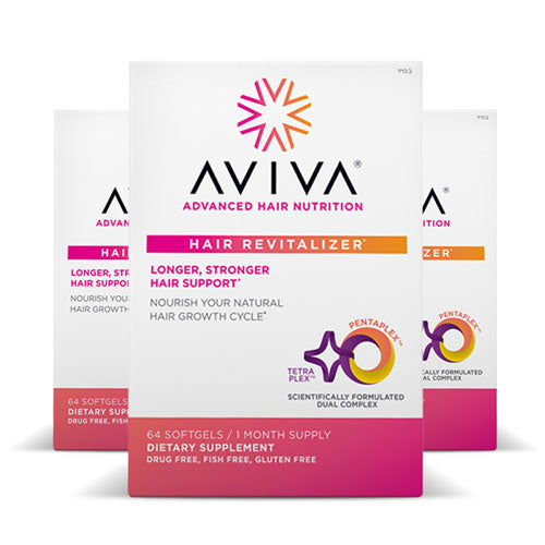 Aviva Advanced Hair Nutrition 90 days | Bulu Box - sample superior vitamins and supplements