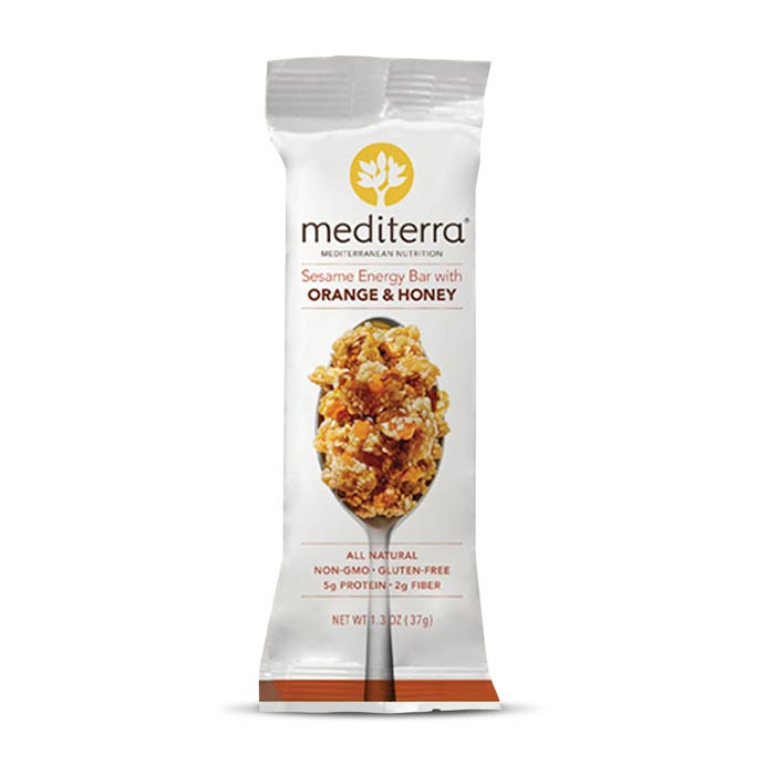 Mediterra Nutritional Bars Orange Honey | Bulu Box - sample superior vitamins and supplements