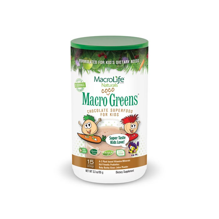 MacroLife Macro Coco Greens for Kids | Bulu Box Superior Supplements, Vitamins, and Healthy Snacks