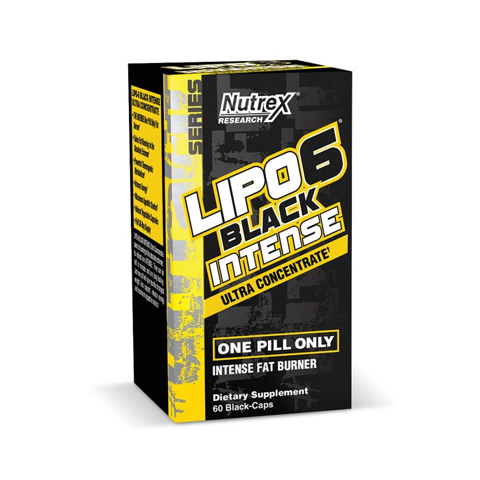 Nutrex Lipo6 Black Intense - 60 Ct.