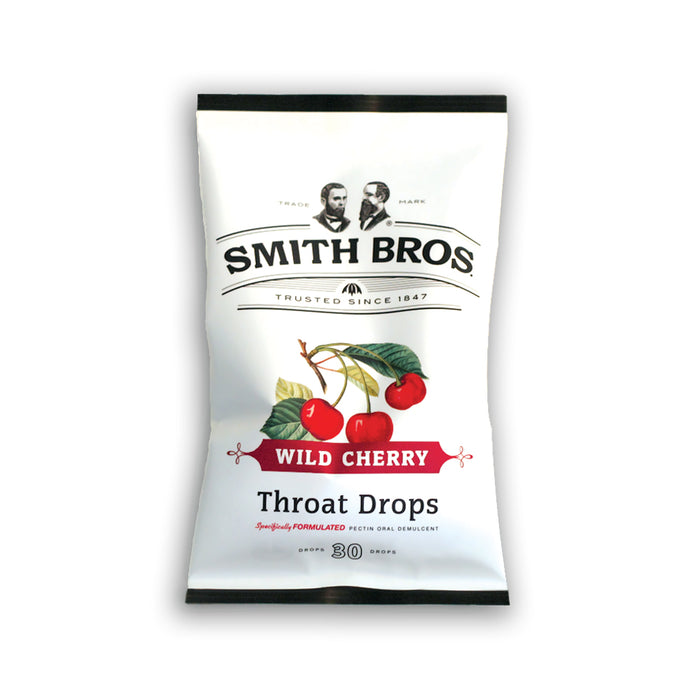 Smith Brother's Cough Drops - Wild Cherry