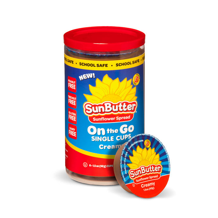 SunButter On the Go Creamy Cups - 6 Pack