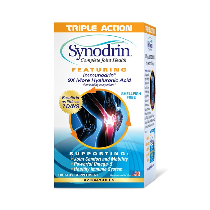 Synodrin Triple Action Joint Pain Relief Capsules