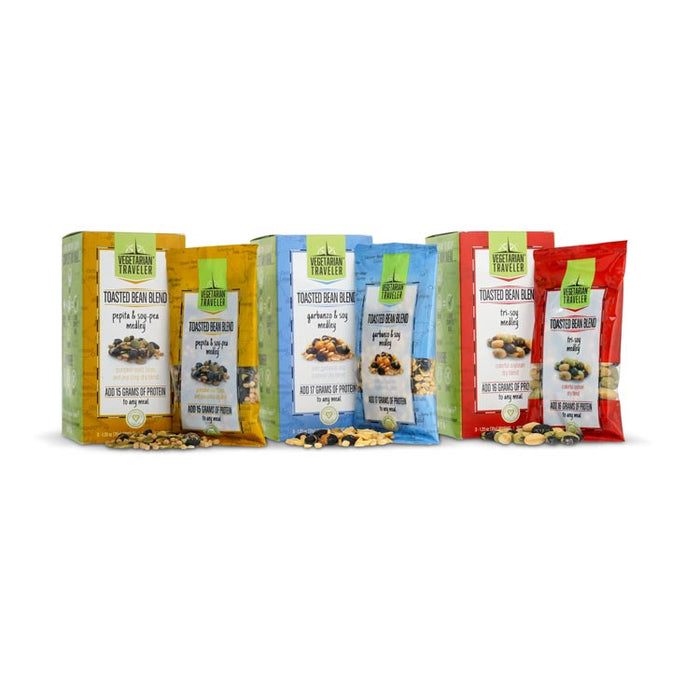 Vegetarian Traveler - Protein Toppers