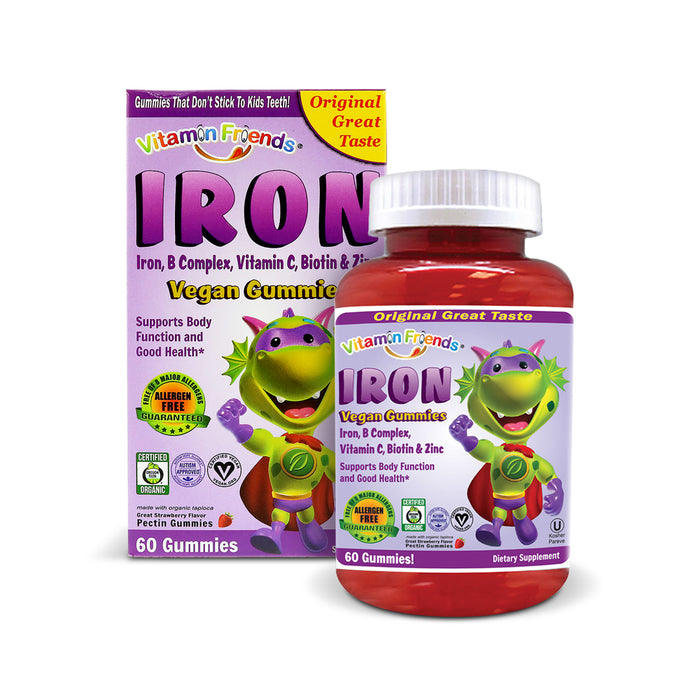 Vitamin Friends Kids Iron Gummies