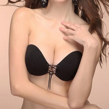 strapless backless bra round style