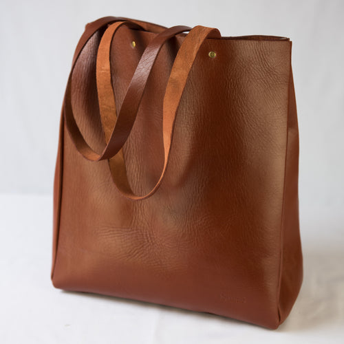 Brown Akara Tote Handbag
