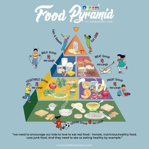 The Best Food Pyramid For Your Kids