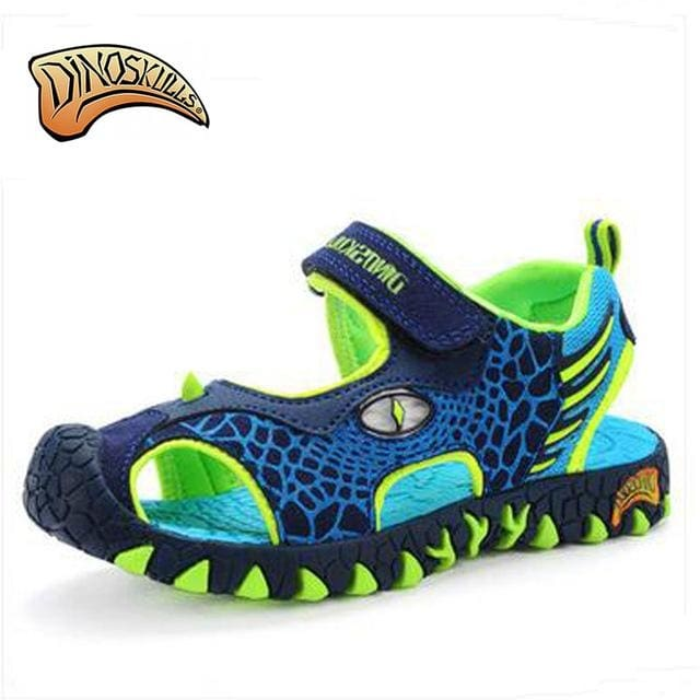 0fbc8d023d9aa 3D Dinosaur Glowing Sneakers - Picture Color   12 - Boys