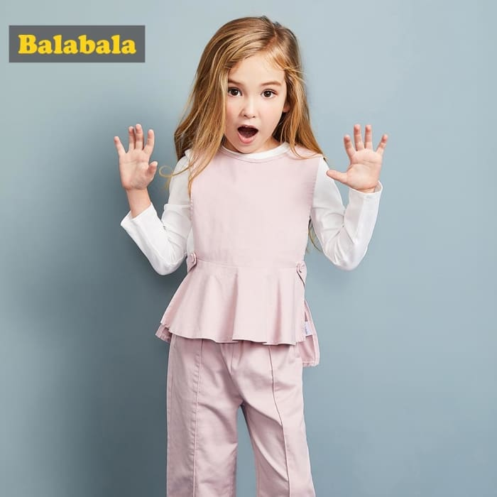 3Pcs Girls Clothing Suit Costume Sets - Girls