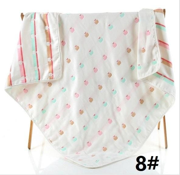 6 Layers Gauze Cotton Baby Blankets - Accessories