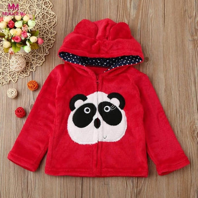 Animal Hooded Coat - Girls