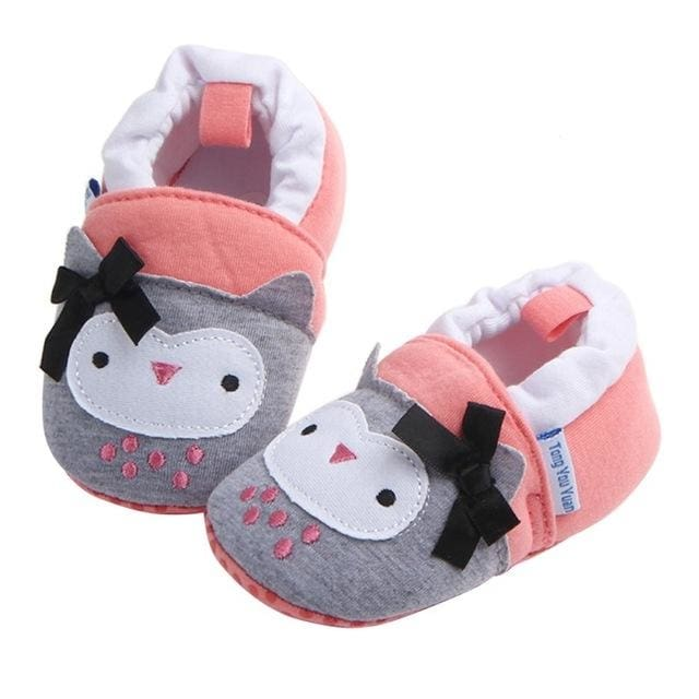 Baby Boy-Girl Soft Cotton Crib Shoes - Baby Boys