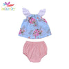 Baby Girl Floral 2Pcs Set - Multi / 3Y - Baby Girls