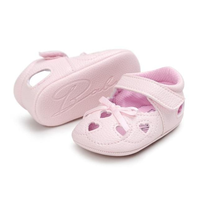 Baby Girl Leather Shoes First Walkers - Pink   13-18 Months - Baby Girls 3e0e51ea2ddd