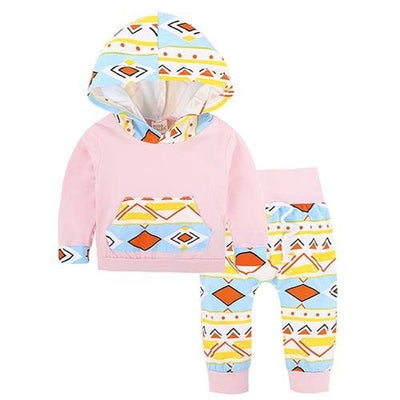 Baby Hood Tops + Long Pants Leggings Outfit - As Photos 4 / 1Y 6M - Baby Boys
