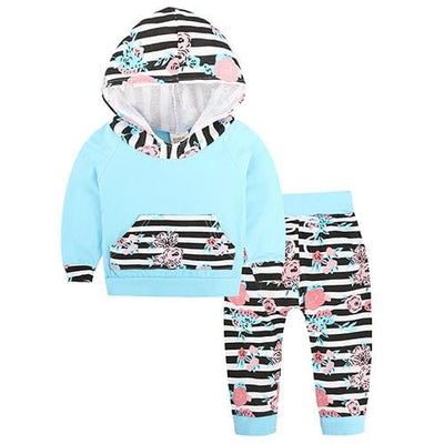Baby Hood Tops + Long Pants Leggings Outfit - As Photos 5 / 1Y 6M - Baby Boys