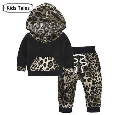Baby Hood Tops + Long Pants Leggings Outfit - Baby Boys