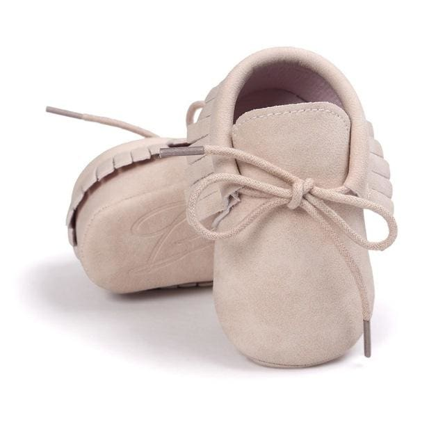 Baby Shoes Fashion Pu Leather Tassel - Baby Girls