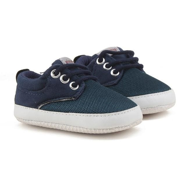 Baby Soft Soles Canvas Crib Shoes - Baby Boys