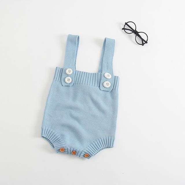 Baby Spring Knitting Rompers - Baby Girls